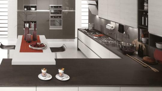Cucina bianca ciao abitare arredamenti for Abitare arredamenti giugliano