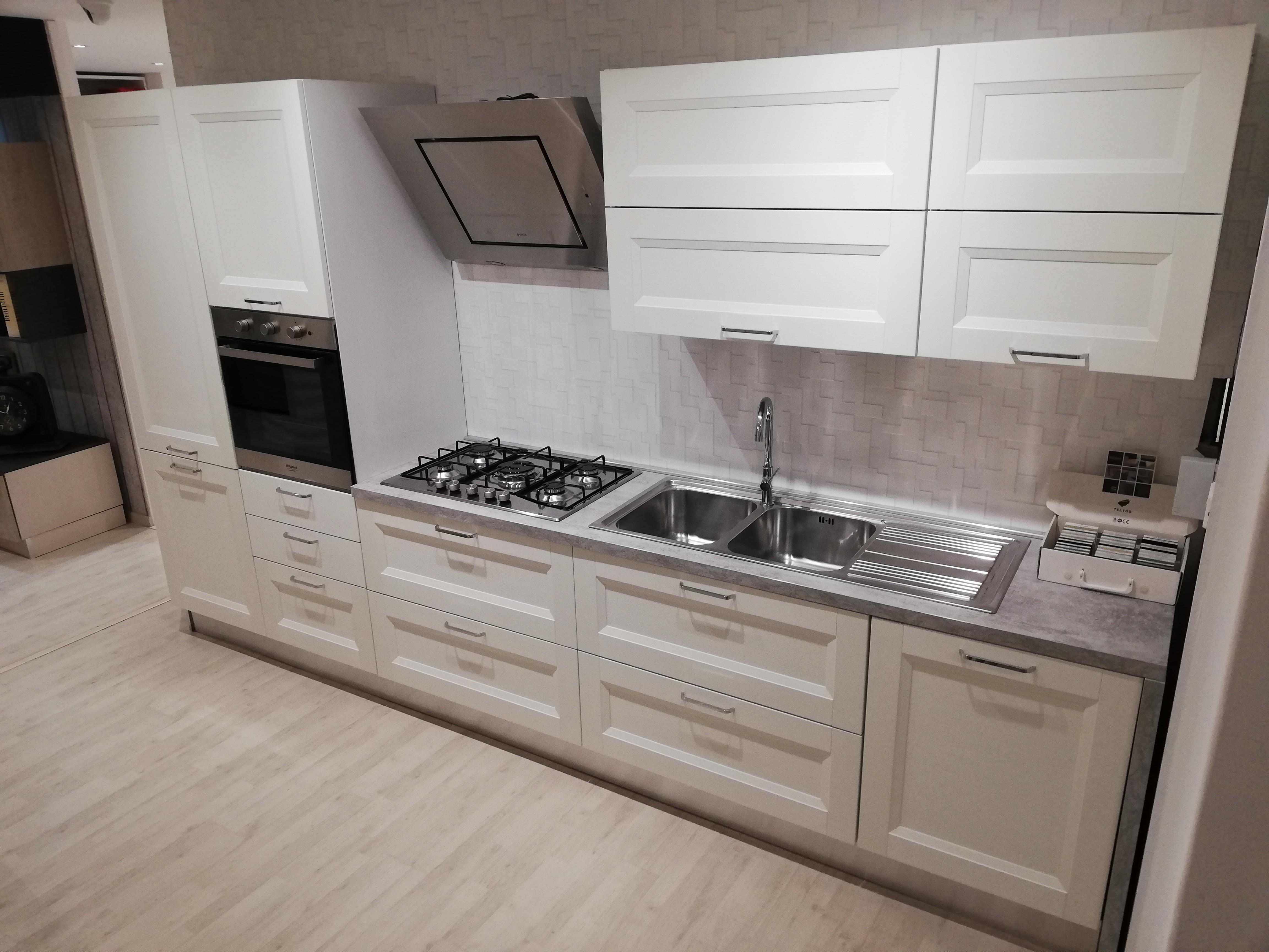 Cucina bianca ciao abitare arredamenti for Abitare arredamenti camerette