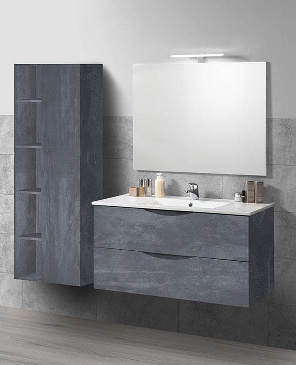 Mobile bagno ares abitare arredamenti for Abitare arredamenti camerette
